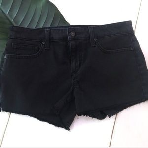 Joe's Jeans Black Cut Off Shorts
